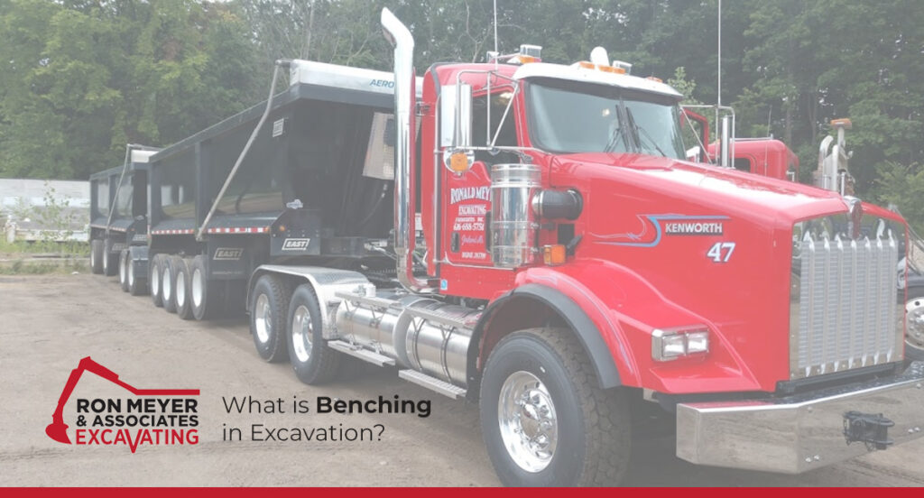 What is Benching in Excavation?