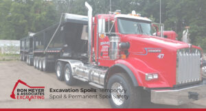 Excavation Spoils: Temporary Spoil & Permanent Spoil Safety