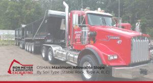 Maximum Allowable Slope By Soil Type